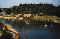 Solar pond photograph