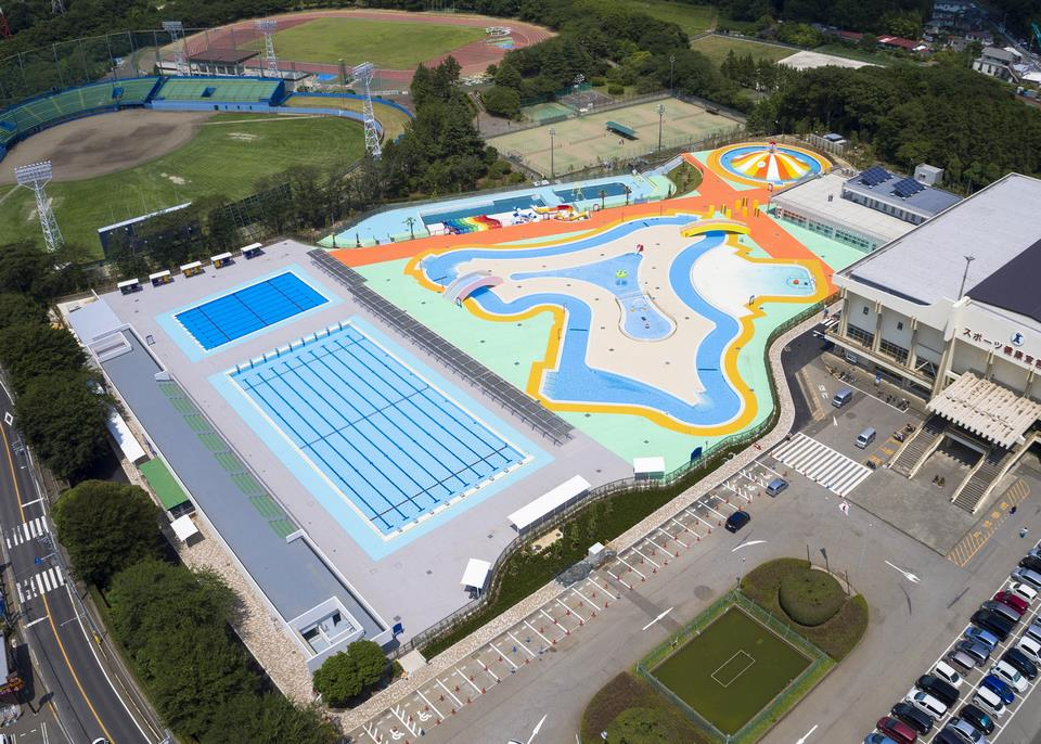 船橋市運動公園プール(屋外プール)