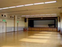 Photograph of the fourth floor of the public hall hall